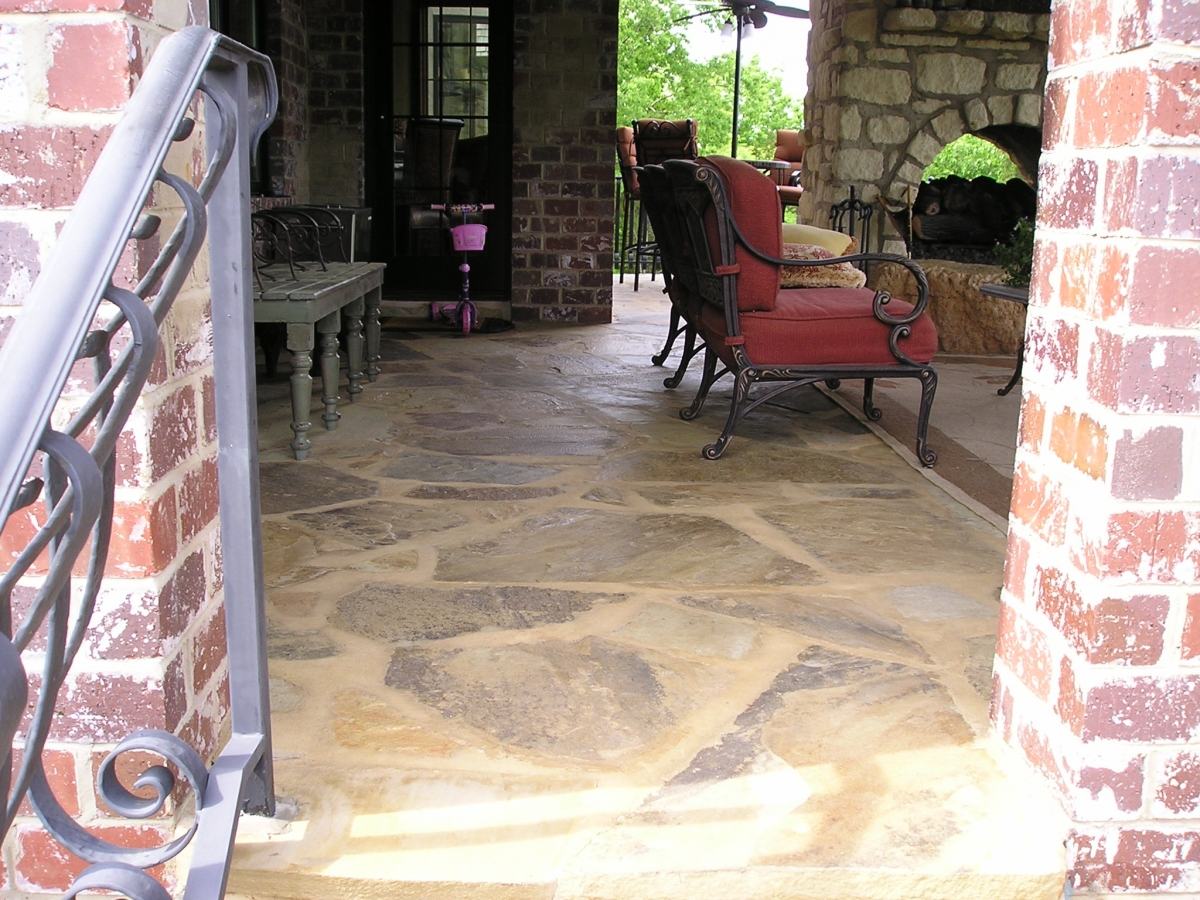 We Are One Of The Few Landscape Companies With Extensive Experience In Installing Interior Flagstone Floors St Louis Area